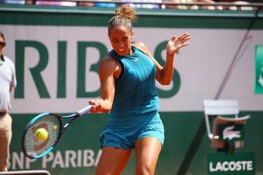 Roland-Garros 2018, Madison Keys, 8e de finale