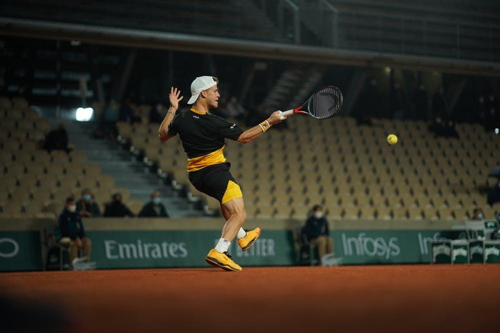 Diego Schwartzman, Roland Garros 2020, third round