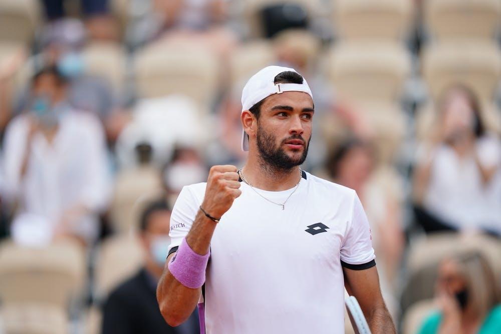 Matteo Berrettini, Roland-Garros 2021, second round