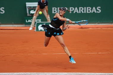 Garbiñe Muguruza - Roland-Garros 2019 - 3e tour