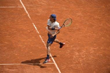 Roland-Garros 2018, Lucas Pouille, 2e tour, 2nd round