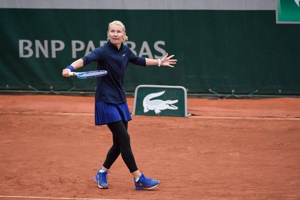 Jana Novotna, Roland Garros 2016 legends