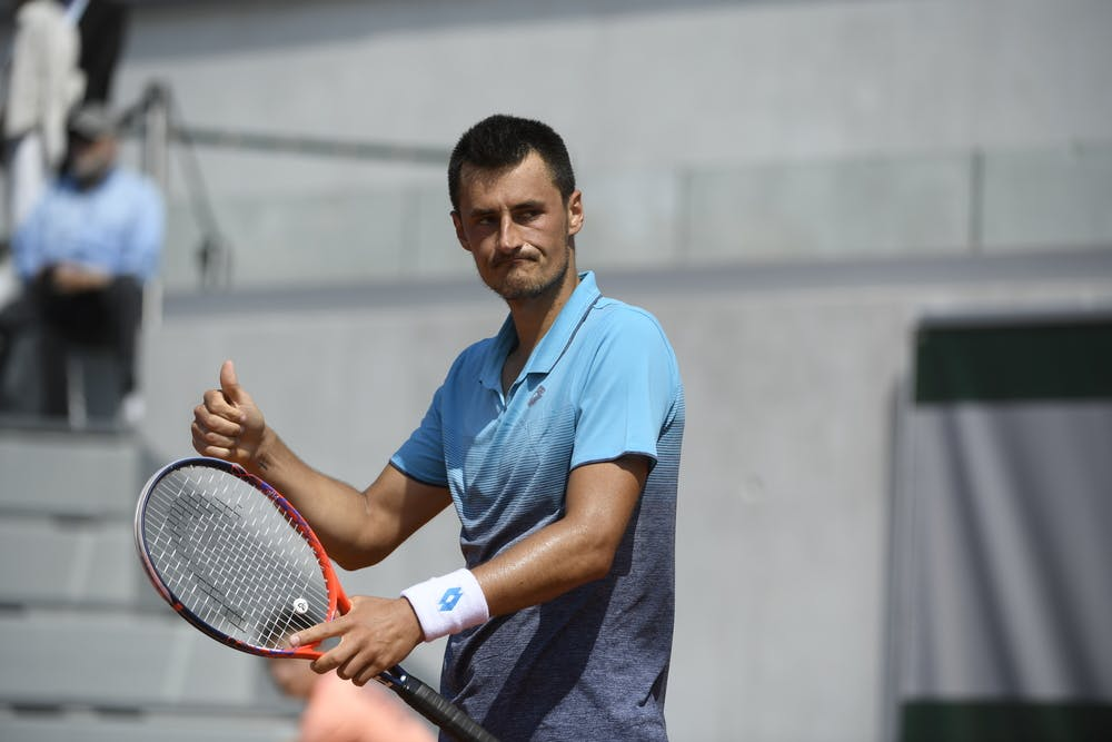 Roland-Garros 2018, Bernard Tomic