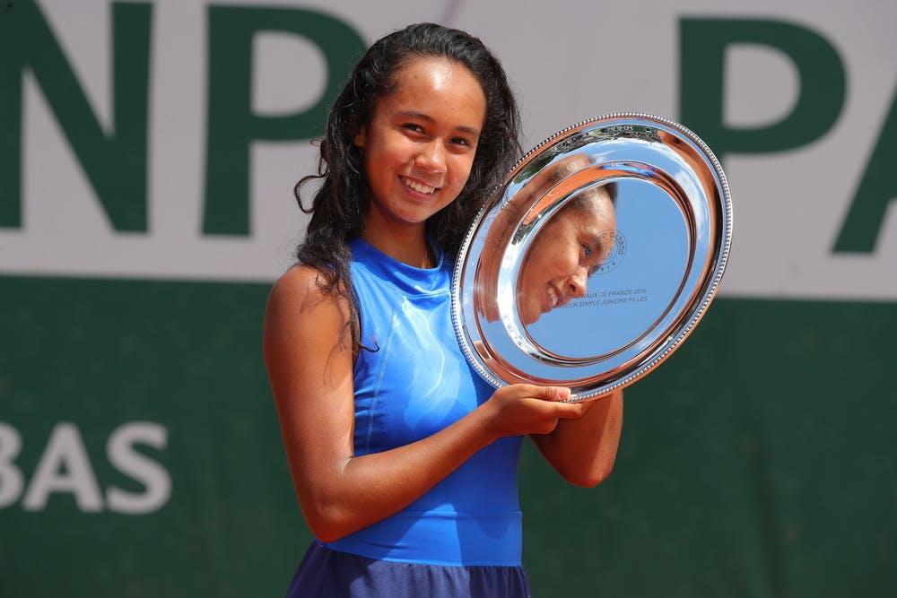 Leylah Fernandez Roland Garros 2019