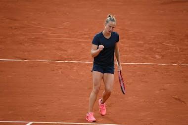Fiona Ferro, Roland-Garros 2020, 3e tour
