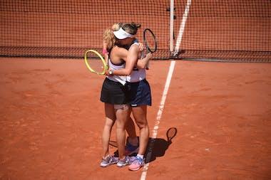 Katerina Siniakova, Barbora Krejcikova, Roland-Garros 2021, women's doubles semi-final
