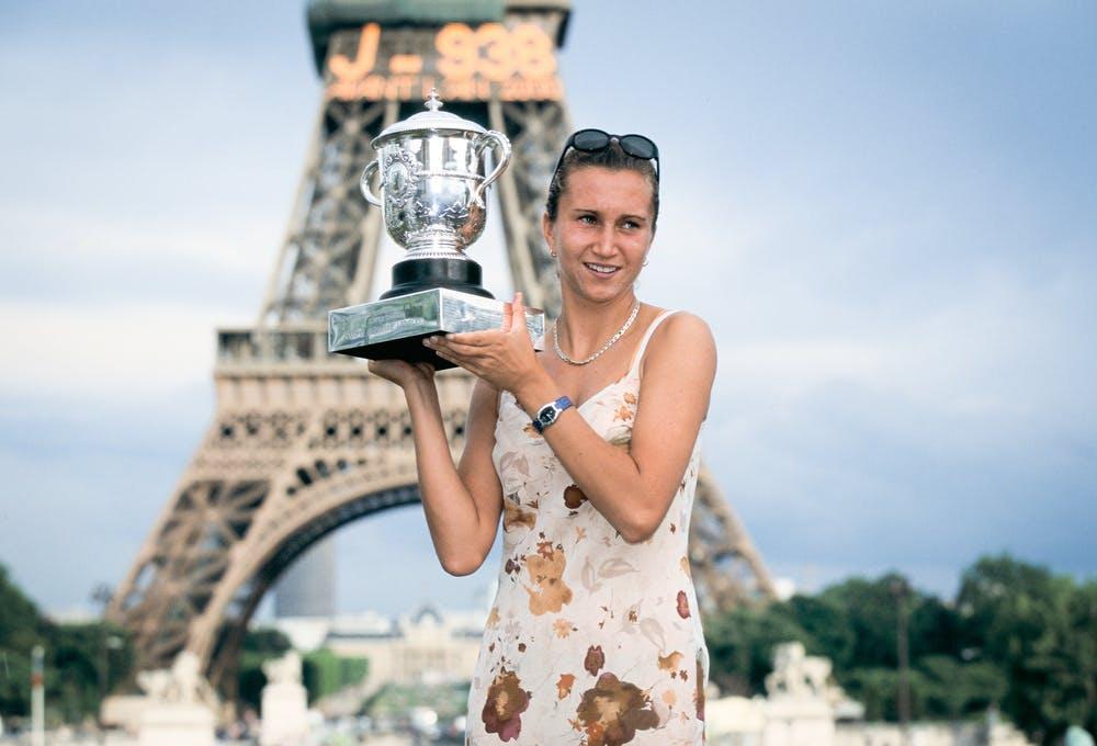 Iva Majoli, Roland Garros 1997, trophy shoot