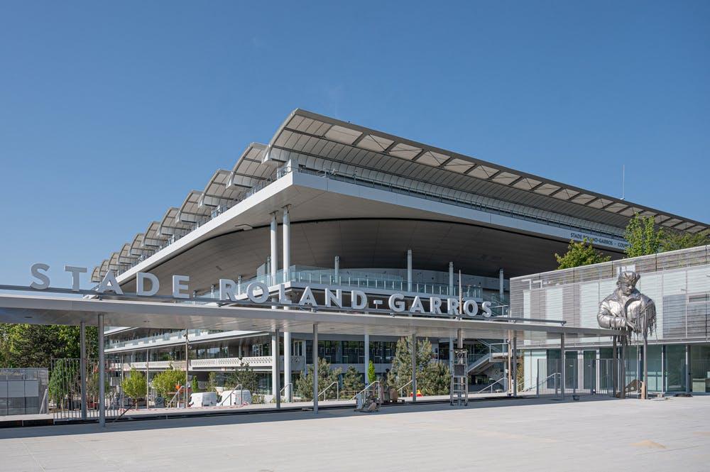 Entrée Stade Roland-Garros