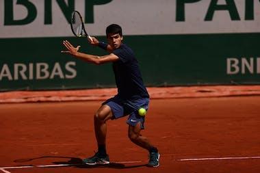 Carlos Alcaraz, Roland-Garros 2021
