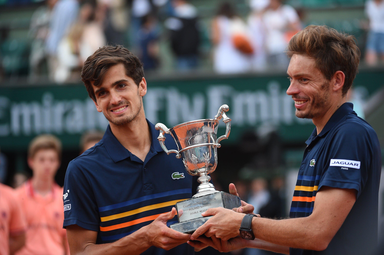 Pierre-Hugues Herbert and Nicolas Mahut Roland-Garros 2018