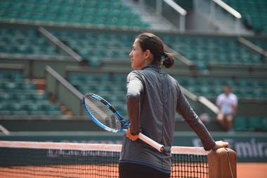 Garbine Muguruza Roland-Garros 2018 entraînement practice