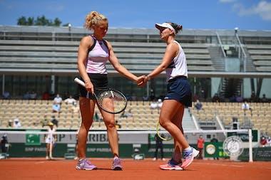Barbora Krejcikova, Katerina Siniakova, Roland Garros 2021, women's doubles semi-finals