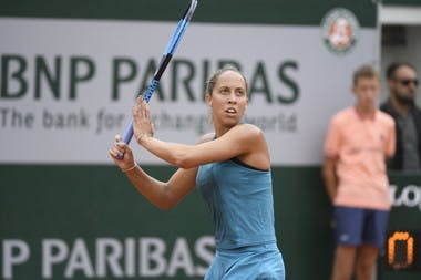 Madison Keys, Roland Garros 2018, Simple Dames, 2eme Tour