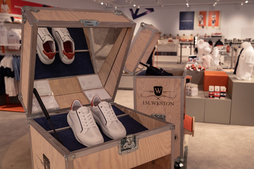 Baskets, J.M Weston, Roland-Garros, Boutique