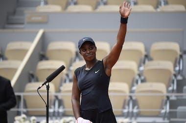 Sloane Stephens, Roland-Garros 2021 second round