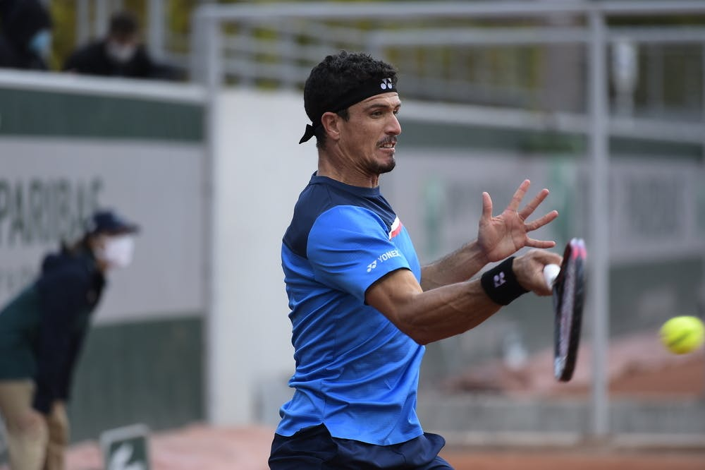 Emilio Gomez, Roland Garros 2020, qualifying round three