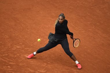 Serena Williams, Roland-Garros 2020, 1er tour