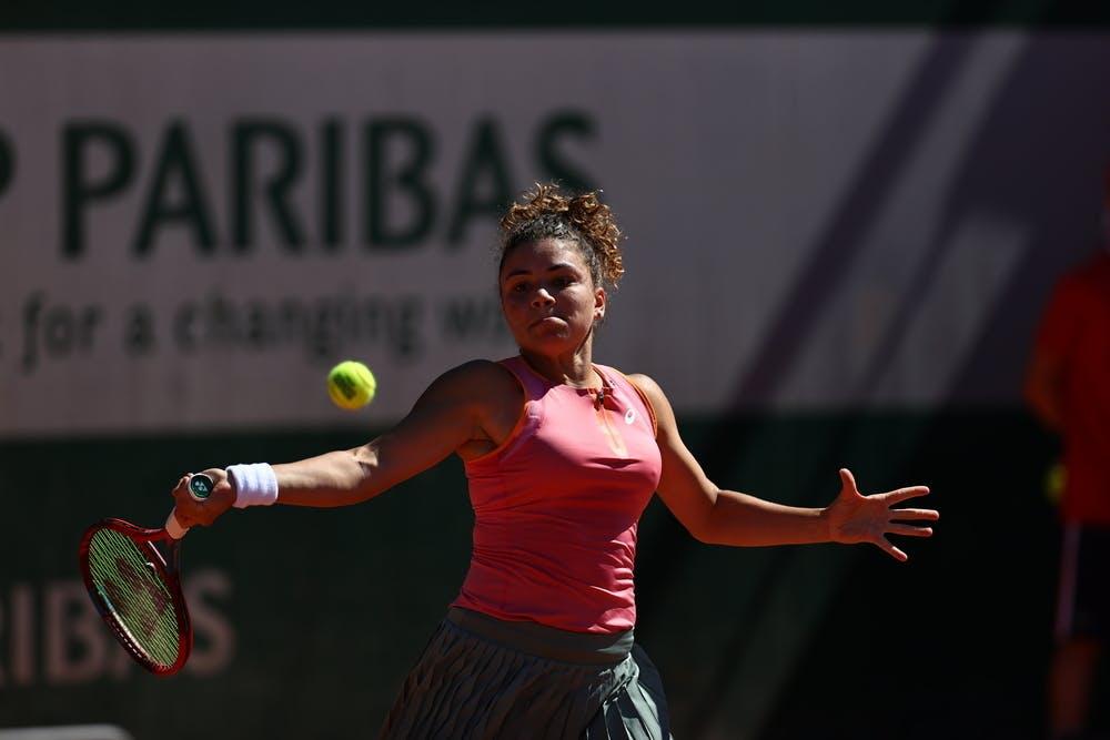 Jasmine Paolini, Roland Garros 2021, first round