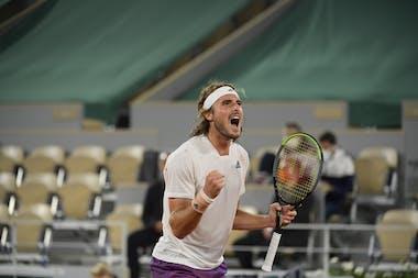 Stefanos Tsitsipas, Roland Garros 2021, quarter-final