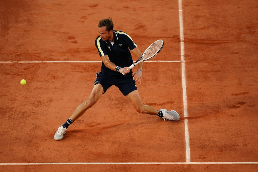Daniil Medvedev Roland Garros 2021