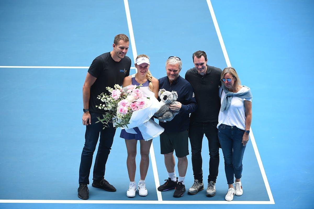 Caroline Wozniacki retraite Australian Open 2020