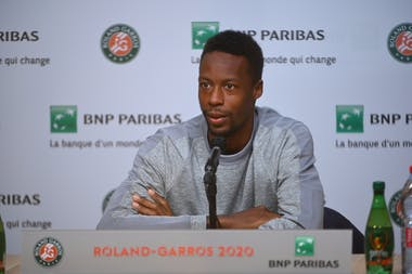 Gaël Monfils, Roland-Garros 2020, media day, vendredi 25 septembre