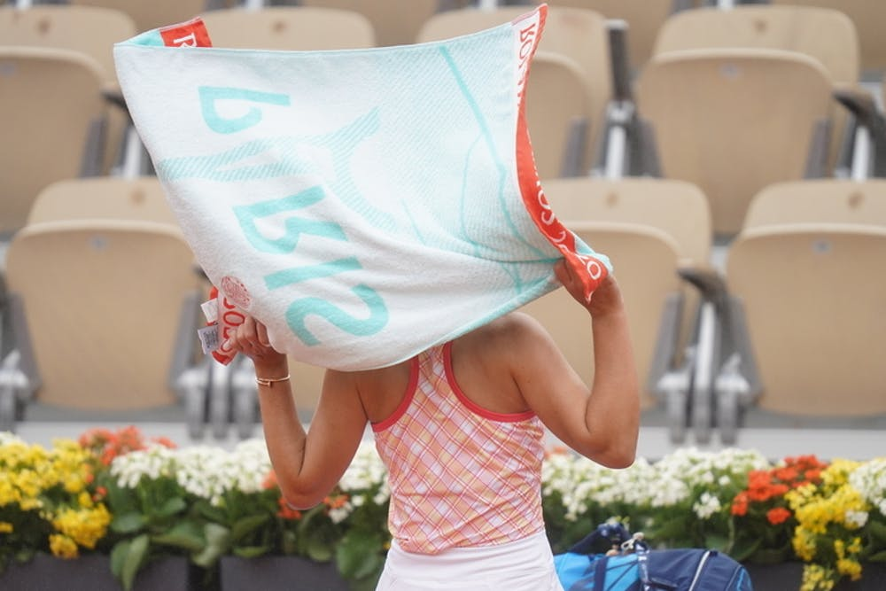 serviette officielle, roland-garros