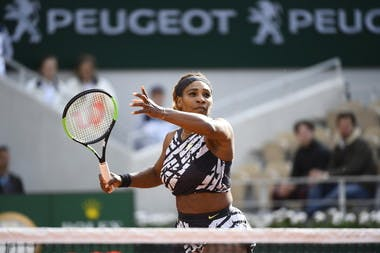 Serena Williams premier tour Roland-Garros 2019