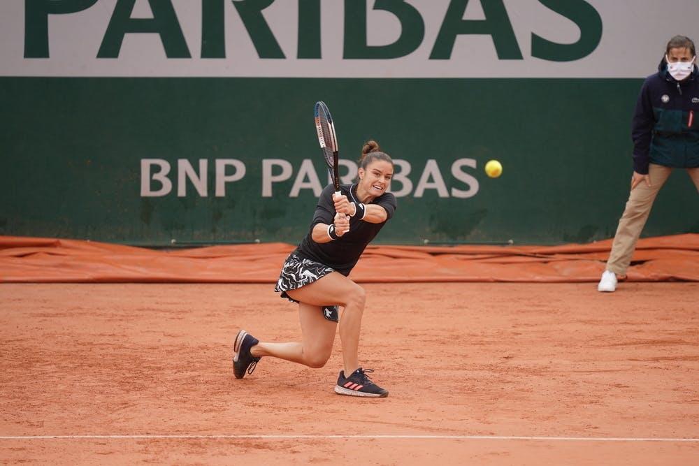 Maria Sakkari, Roland Garros 2020, first round