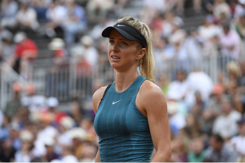 Elina Svitolina 3rd round defeat / Défaite 3e tour Roland-Garros 2018