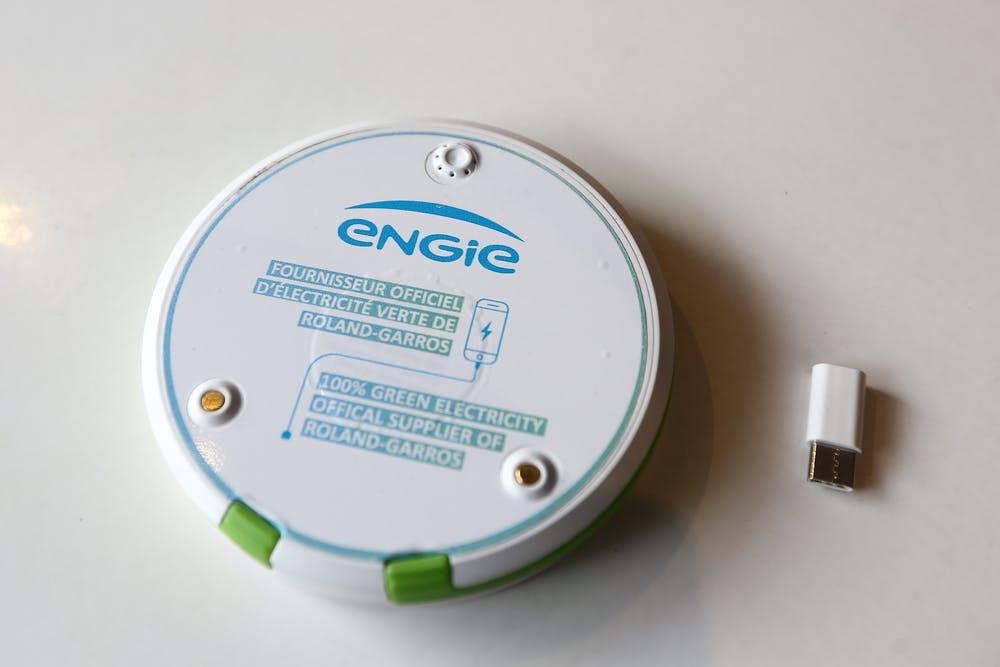 Batterie Engie Roland-Garros