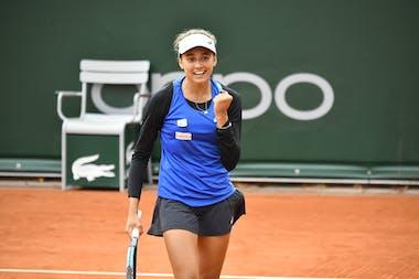 Ana Candiotto, Roland Garros 2020, junior wild card