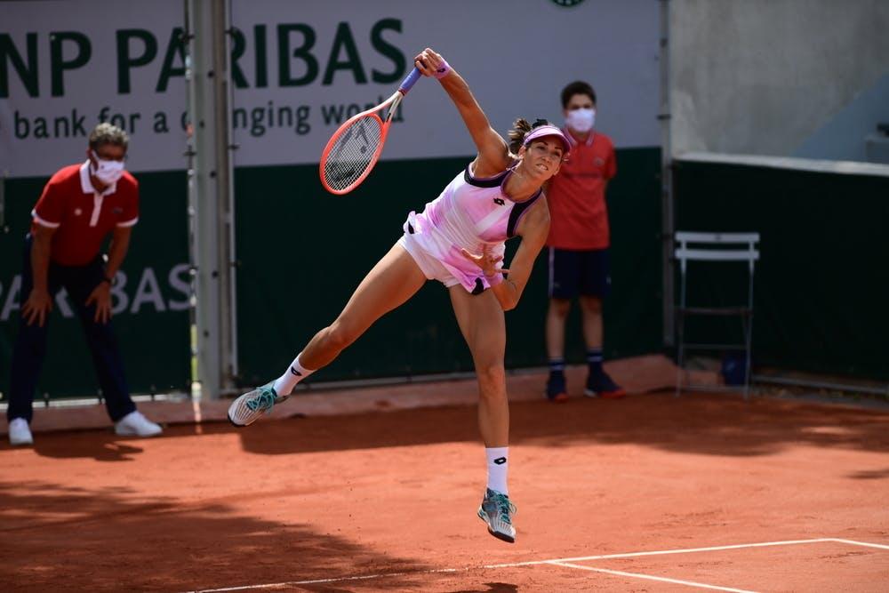 Georgina Garcia Perez, Roland-Garros 2021, women's doubles first round