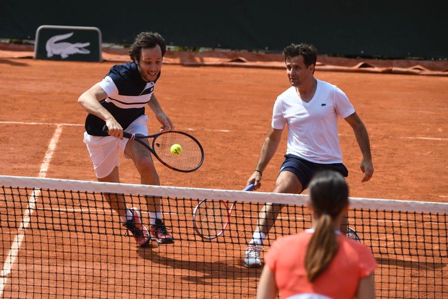 Roland-Garros 2019 - Les Enfants de Roland-Garros - Stars, set et match- Demi-finales - Fabrice Santoro - Vianney - Marine Lorphelin