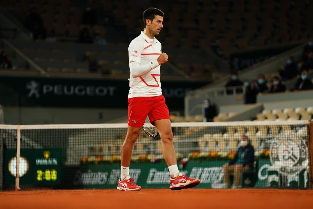 Novak Djokovic, Roland-Garros 2020, quarts de finale