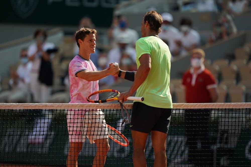 Diego Schwartzman, Rafael Nadal, Roland-Garros 2021, quarter-final