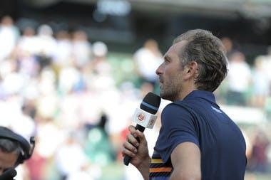 Julien Benneteau Roland-Garros 2018