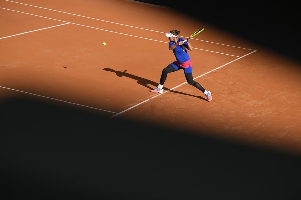 Barbora Krejcikova, Roland Garros 2020, fourth round