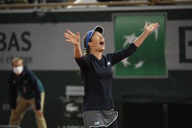 Danielle Collins, Roland-Garros 2020, 3e tour