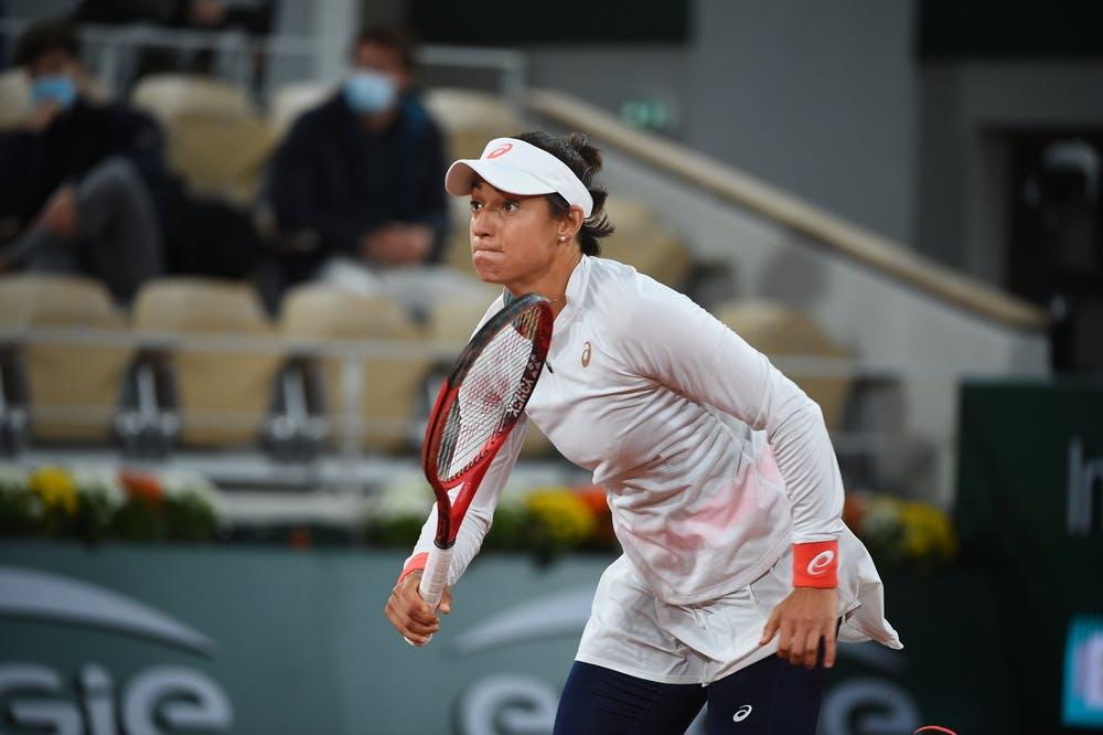Caroline Garcia, Roland-Garros 2020, 1er tour
