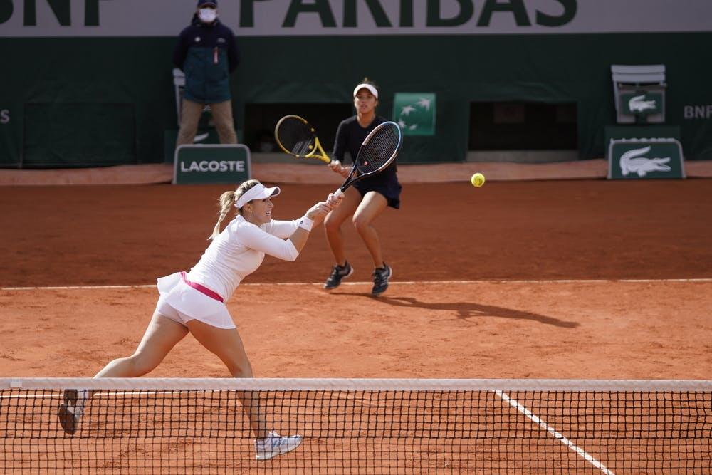 Alexa Guarachi, Desirae KRAWCZYK, Roland Garros 2020, women's doubles quarter-finals