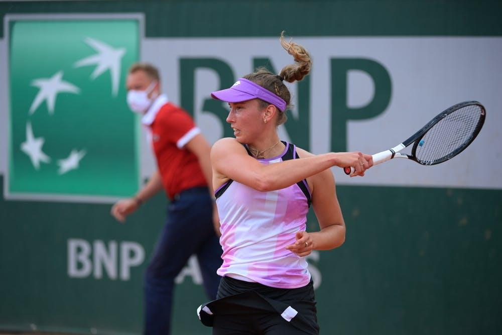 Elise Mertens, Roland-Garros 2021 second round