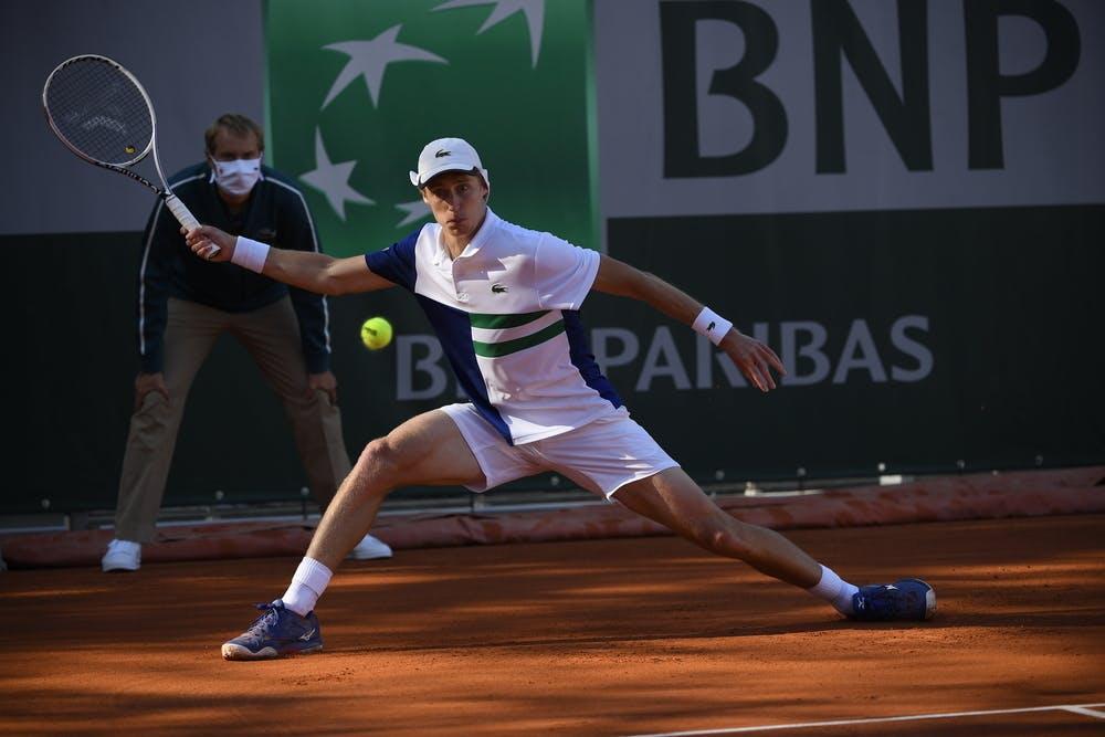 Marc Polmans, Roland Garros 2020, qualifying first round.