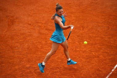 Simona Halep, Roland Garros 2018, Simple Dames, 1er Tour