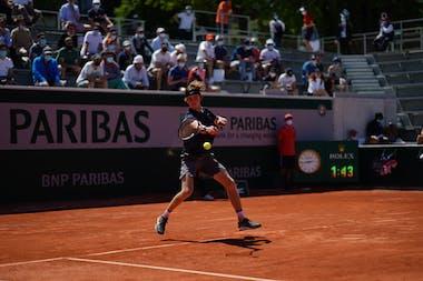 Andrey Rublev Roland Garros 2021