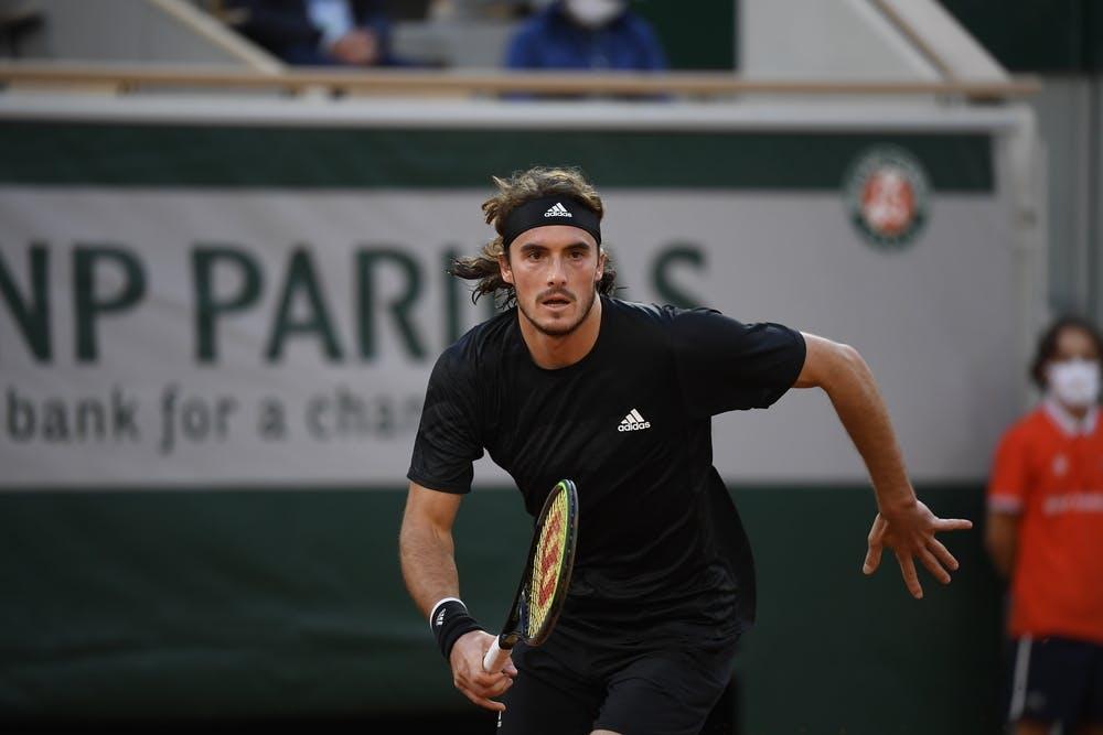 Stefanos Tsitsipas, Roland Garros 2020, quarterfinal