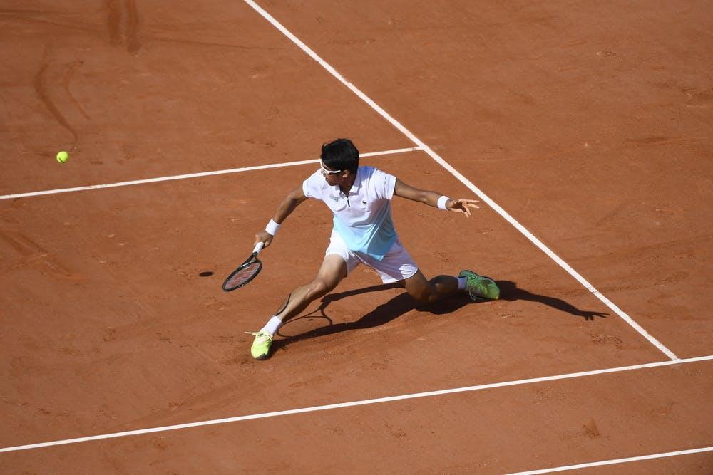 Chung Hyeon, Roland Garros 2020, qualifying first round