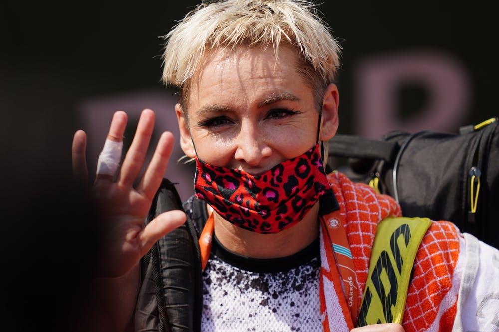 Bethanie Mattek-Sands, Roland-Garros 2021, first round