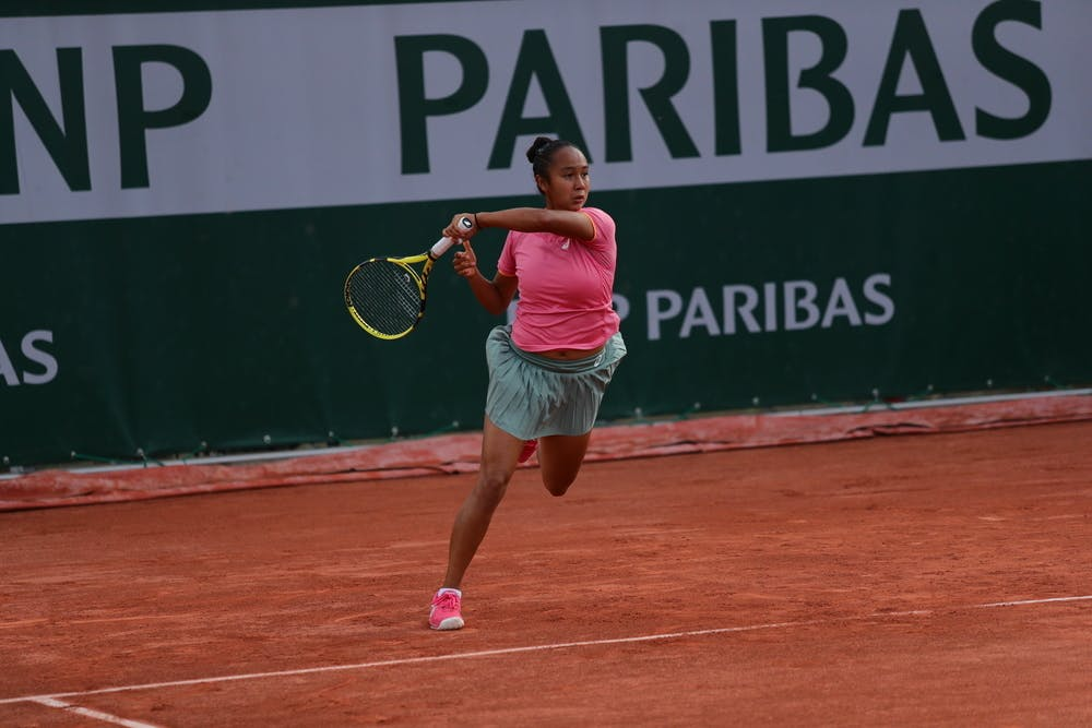 Leylah Fernandez Roland-Garros 2021