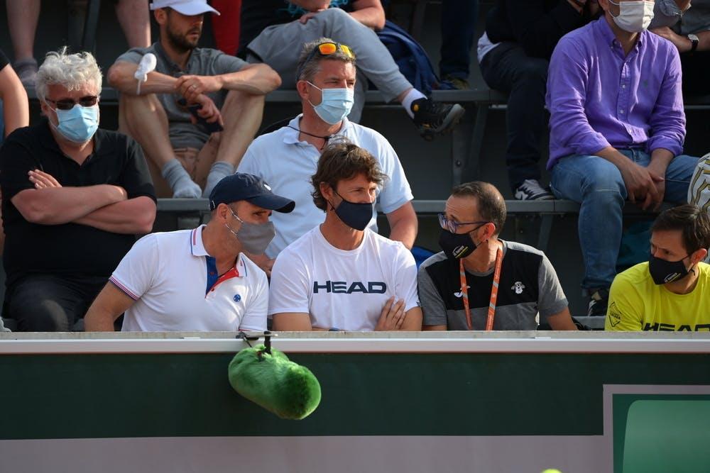 Juan Carlos Ferrero, Roland Garros 2021, clan de Carlos Alcaraz